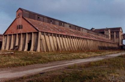 Hangar à chlorure de potassium