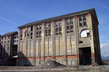 Le bâtiment des mélanges de la mine Rodolphe