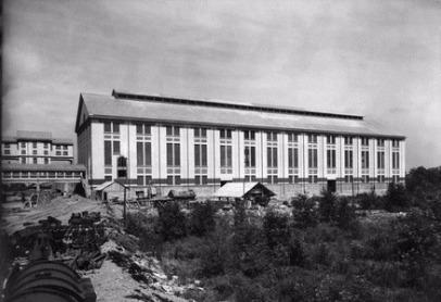 La fabrique thermique du carreau Rodolphe aujourd'hui démolie