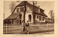 Une maison des MDPA construite entre les deux guerres mondiales.