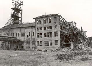 Les dégâts de la 2e guerre mondiale sur les Mines de Potasse