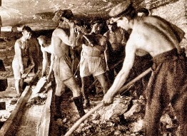 Après la Grande Guerre, des centaines de mineurs, dont beaucoup de Polonais sont engagées par les MDPA.