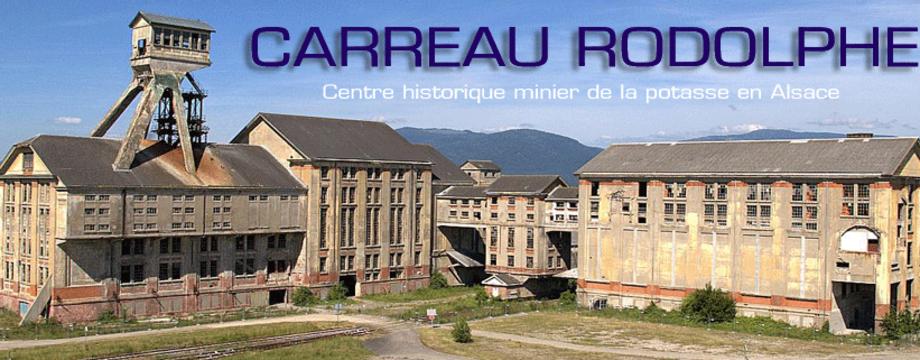 Le site du Groupe Rodolphe et de l'ancien carreau minier de potasse Rodolphe.